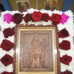 Икона святителя Митрофана из металла