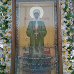 Икона с частицей мощей св.блж.Матроны Московской