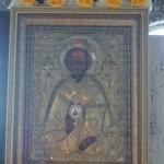 Икона свт.Николая Чудотворца (цельная риза )